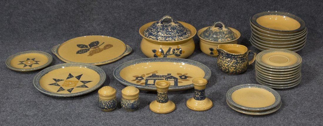 26 Pieces PFALTZGRAFF Pottery Dinner Ware Serving Bowls