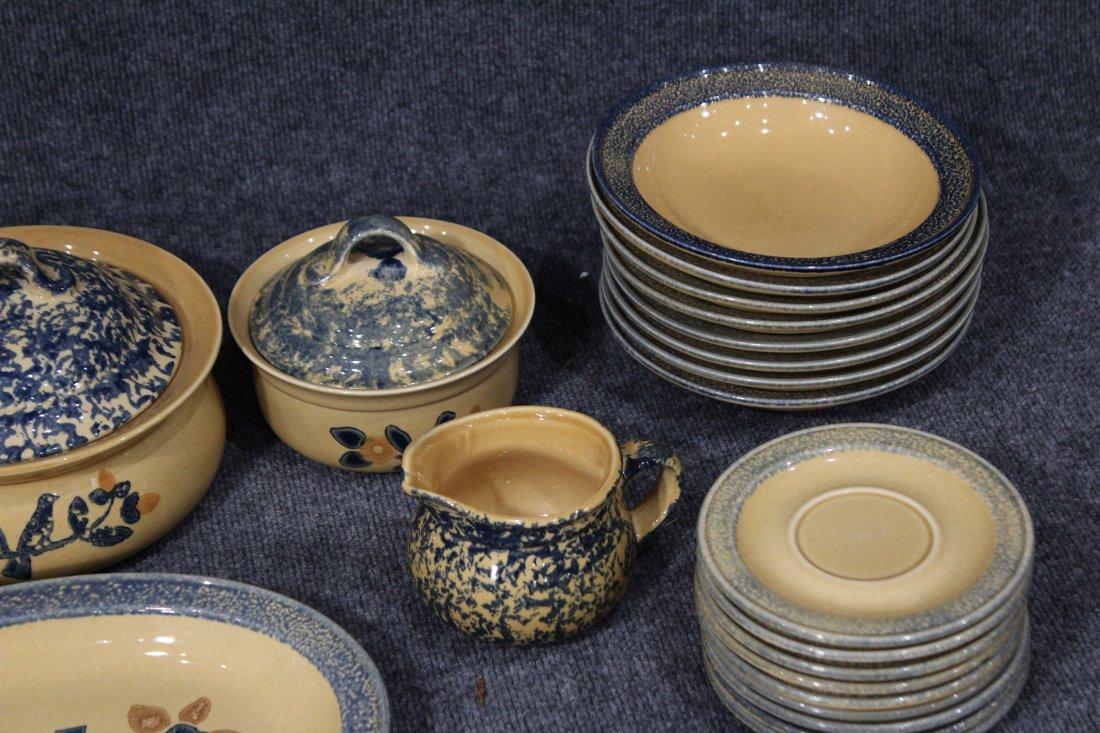 26 Pieces PFALTZGRAFF Pottery Dinner Ware Serving Bowls - 7