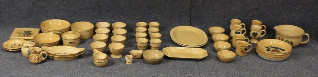 40 + Pieces PFALTZGRAFF Pottery Dinner Ware And Serving