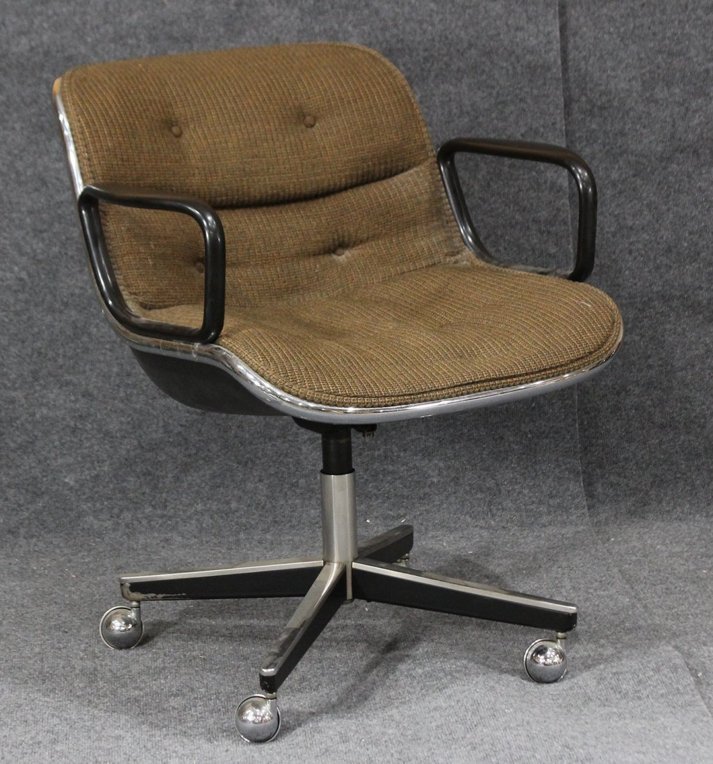 KNOLL INTERNATIONAL Swivel Lounge Office Arm Chair