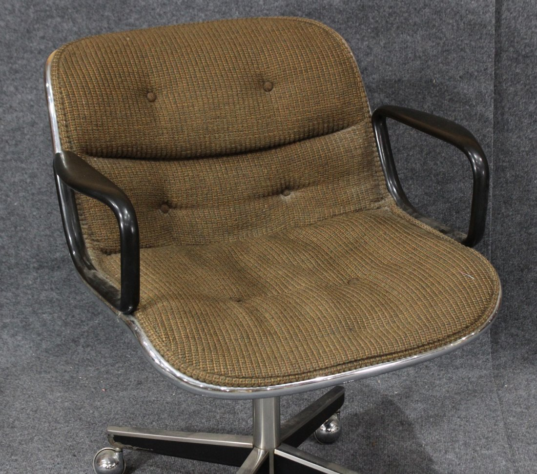 KNOLL INTERNATIONAL Swivel Lounge Office Arm Chair - 2