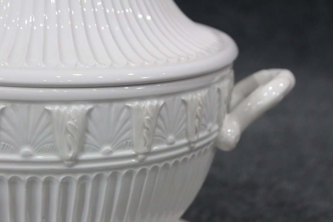LENOX Covered Tureen, Under Plate and Ladle - 2