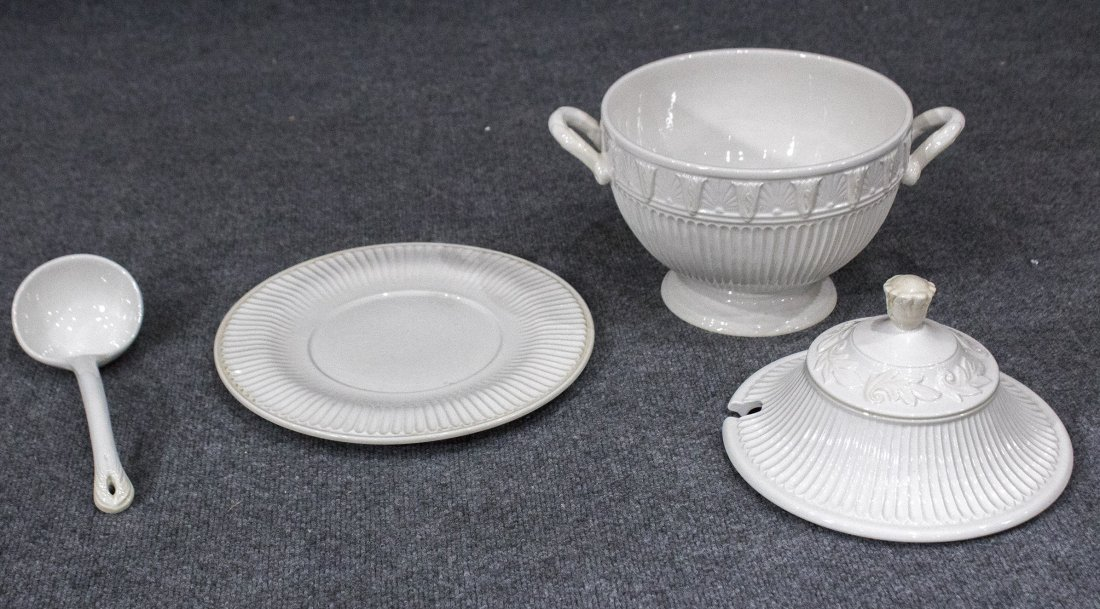 LENOX Covered Tureen, Under Plate and Ladle - 4