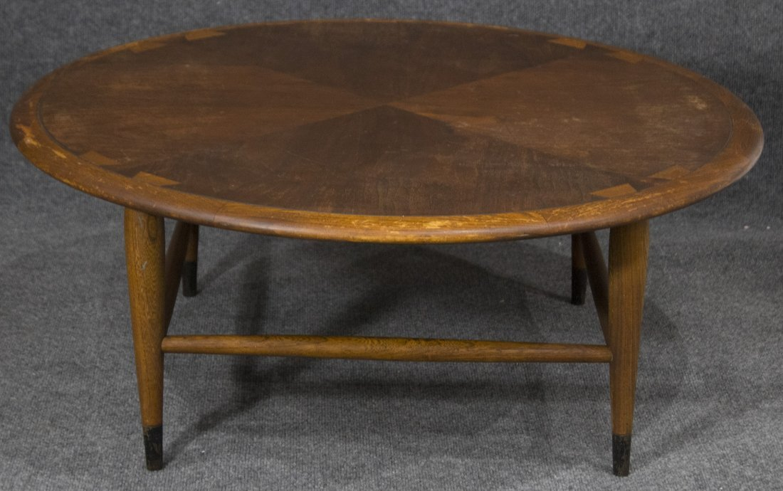 Mid-century danish modern style lane coffee table