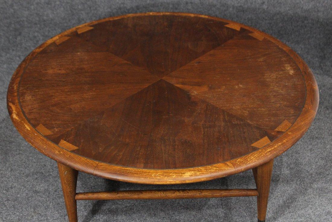 Mid-century danish modern style lane coffee table - 2