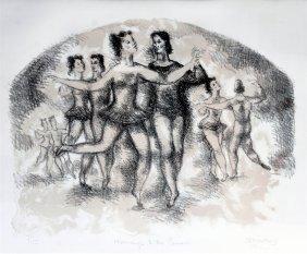 Chaim Gross [Austrian 1904-1991] Homage To The