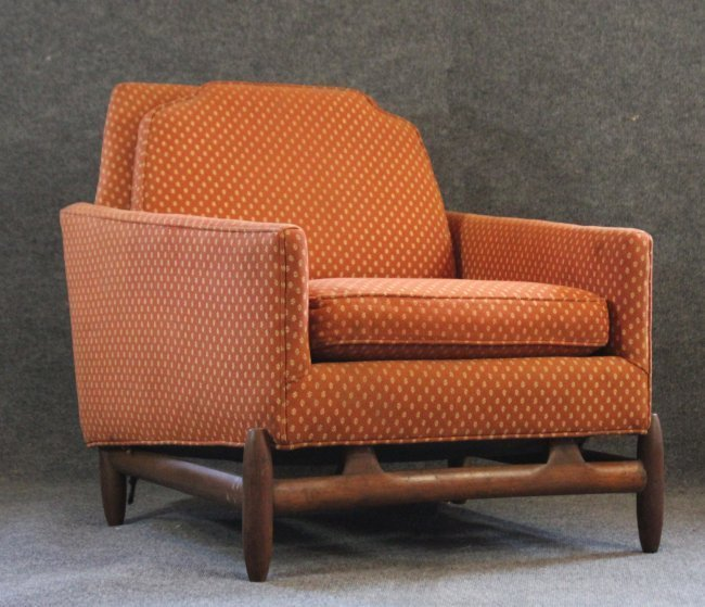 ADRIAN PEARSALL UPHOLSTERED LOUNGE CLUB CHAIR