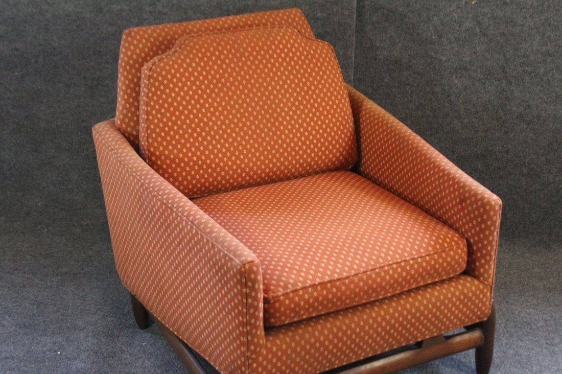 ADRIAN PEARSALL UPHOLSTERED LOUNGE CLUB CHAIR - 2