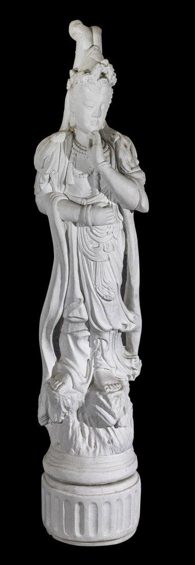 Henri Studios Chicago Stone large buddha