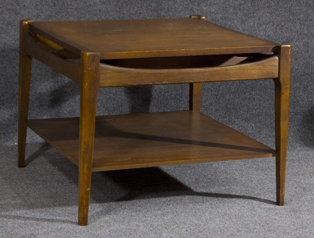 Mid-century danish modern occasional end table