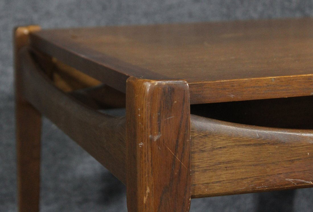 Mid-century danish modern occasional end table - 2
