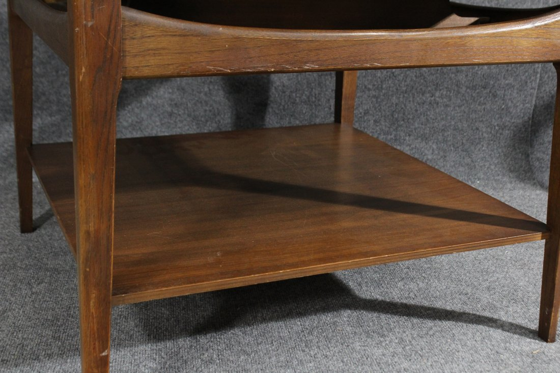 Mid-century danish modern occasional end table - 3
