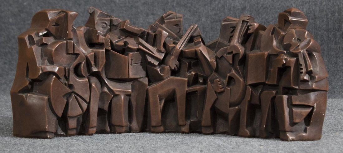 austin prods cubist sculpture Musicians Orchestra band