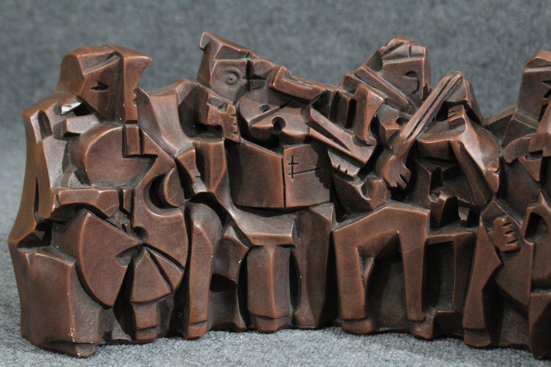 austin prods cubist sculpture Musicians Orchestra band - 2