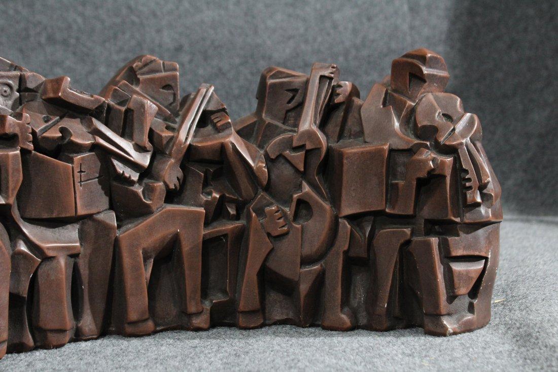 austin prods cubist sculpture Musicians Orchestra band - 3