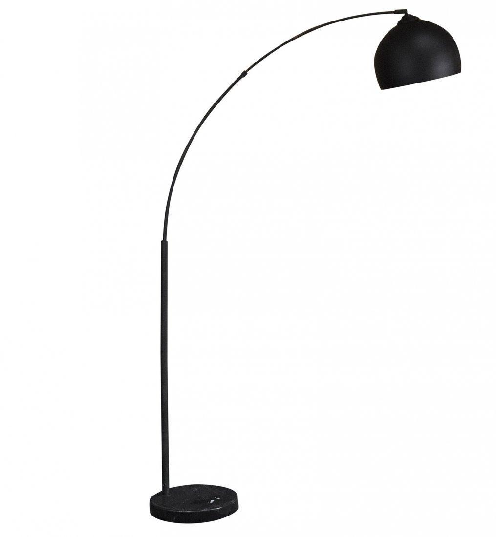 Mid-century Modern Arc floating floor lamp