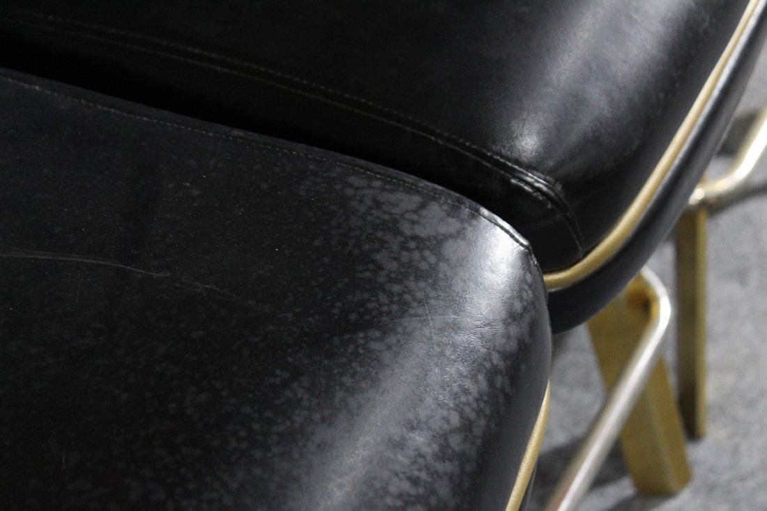 SET of 4 TRUMP PLAZA CASINO BLACKJACK BAR STOOLS - 7
