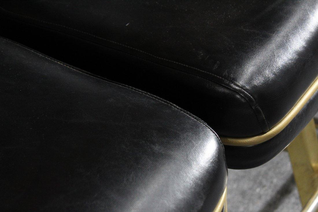 SET of 4 TRUMP PLAZA CASINO BLACKJACK BAR STOOLS - 8