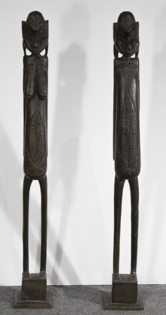 African Carved fertility sculptures