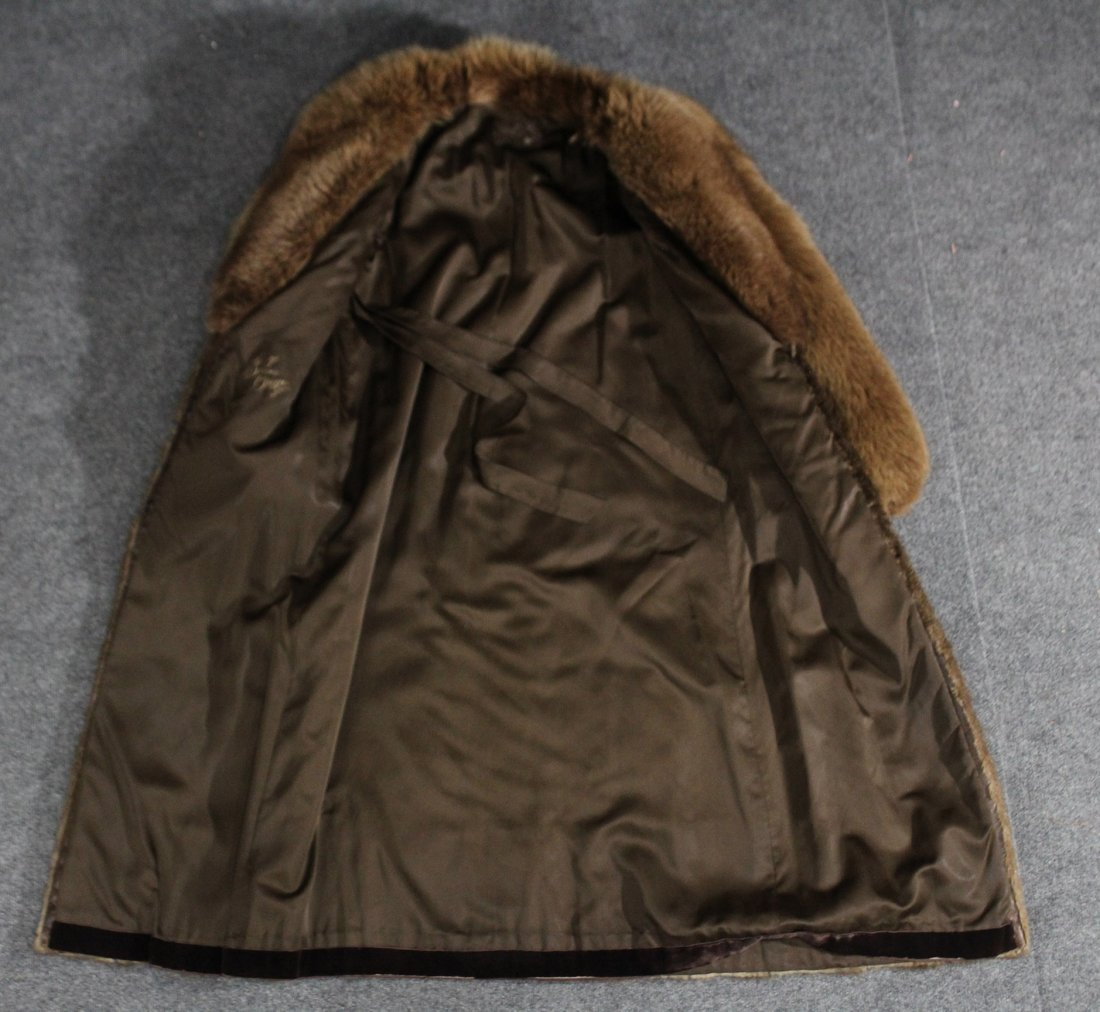 Long fur coat jacket Canadian, susan oiffi - 2
