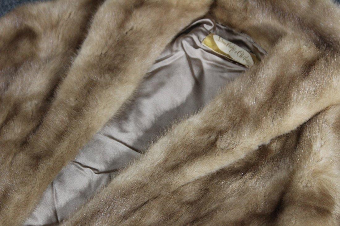 Fur over jacket vest , shrug - 2