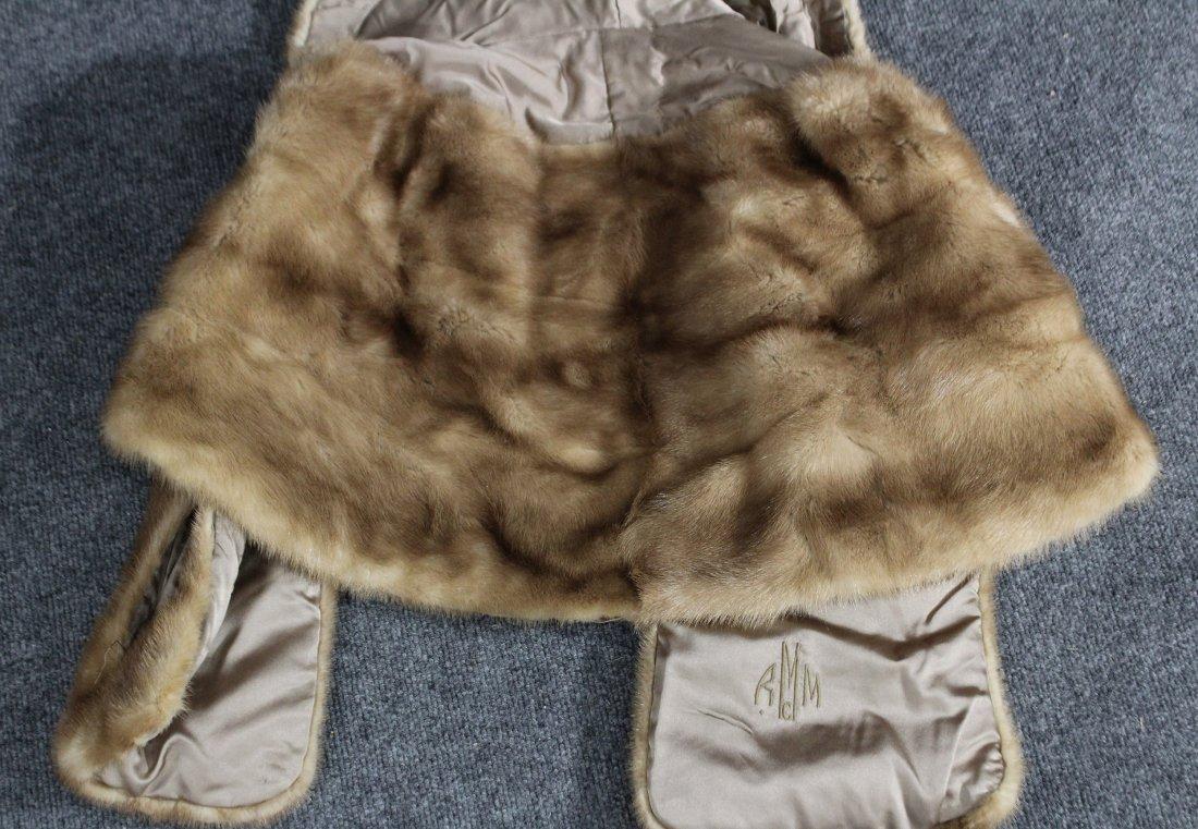 Fur over jacket vest , shrug - 5