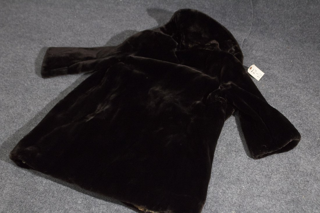 Fur over jacket coat Seal - 5