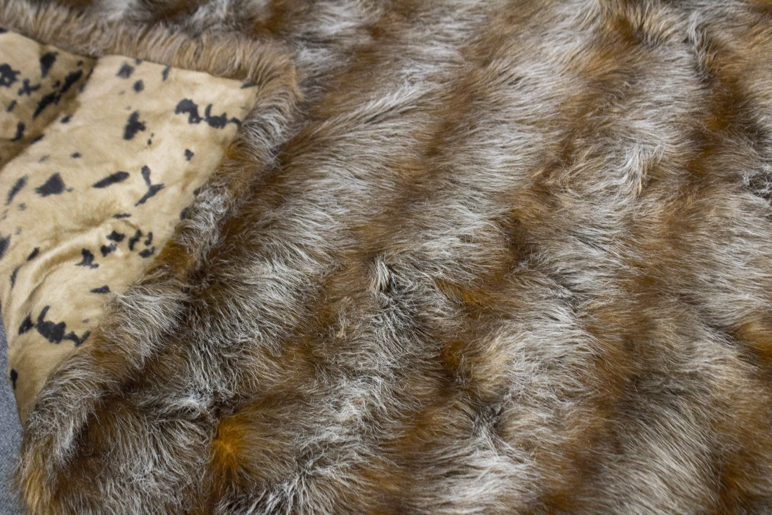 Fur through rug - 2