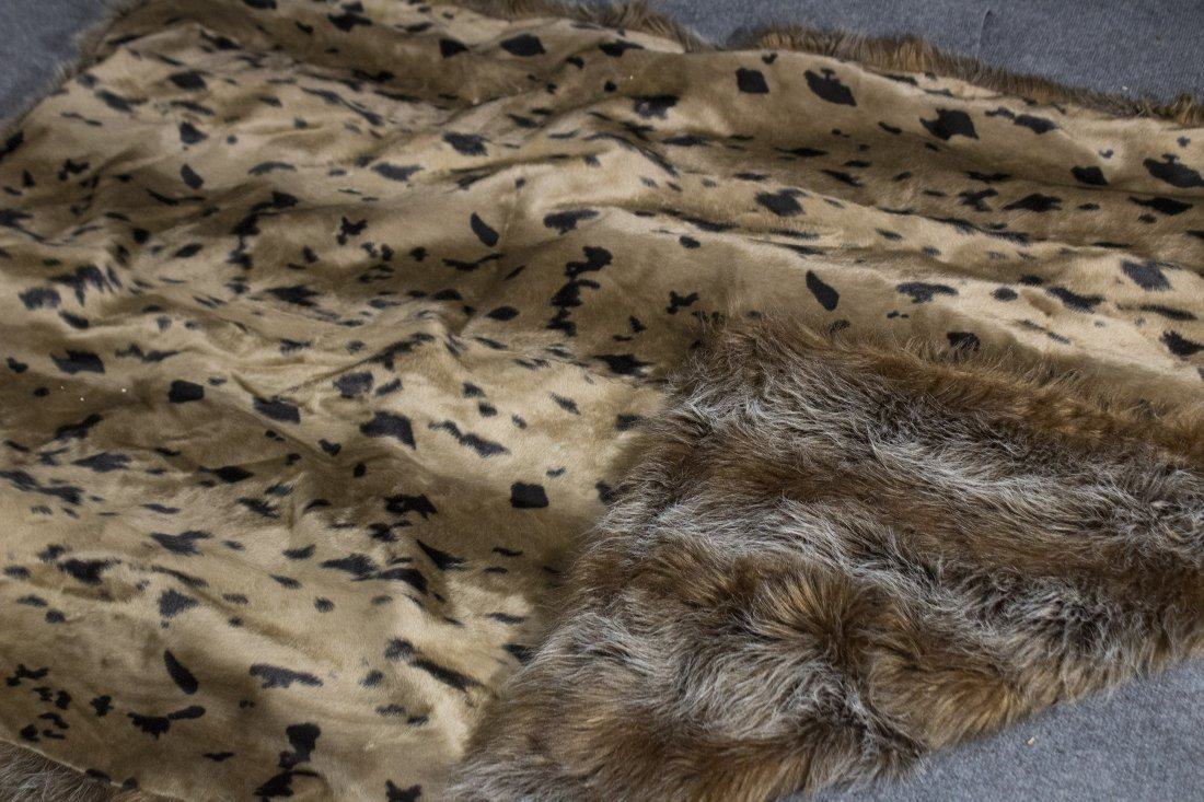 Fur through rug - 3
