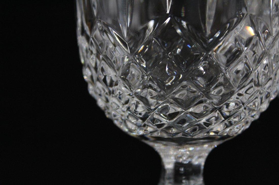 Set Four [4] WEDGEWOOD LISMORE DIAMOND WINE GLASSES - 6