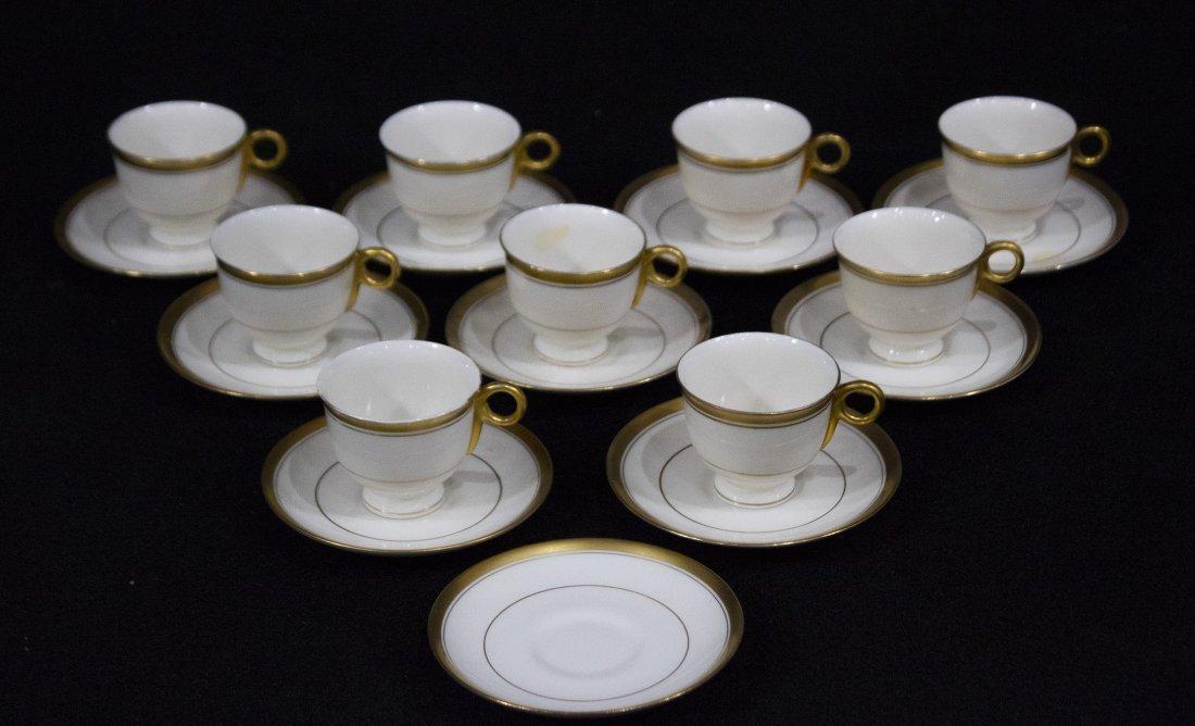 BERKELEY Theodore Haviland  N.Y. [9] CUPS [10] SAUCERS