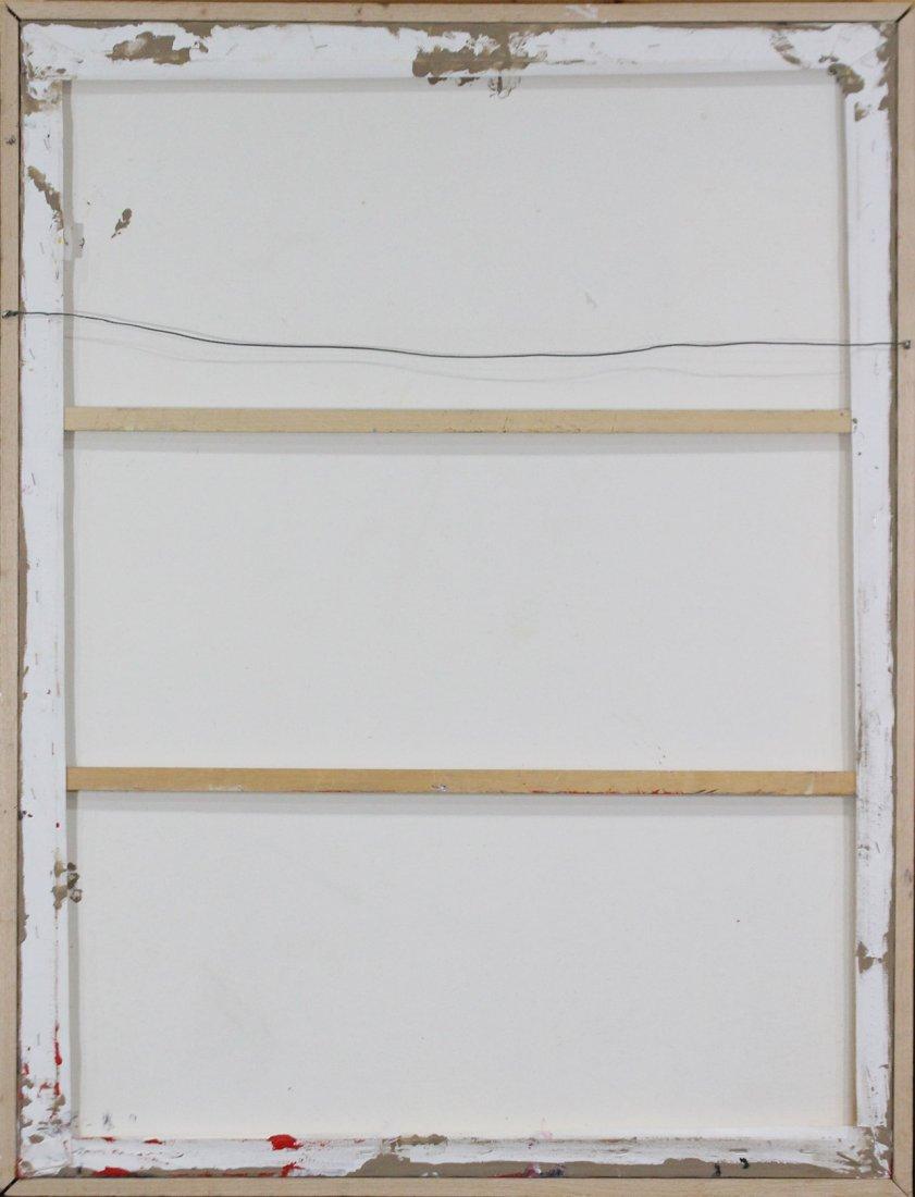 JACKSON POLLOCK STYLE Mid-Century Mod Drip Art Painting - 4