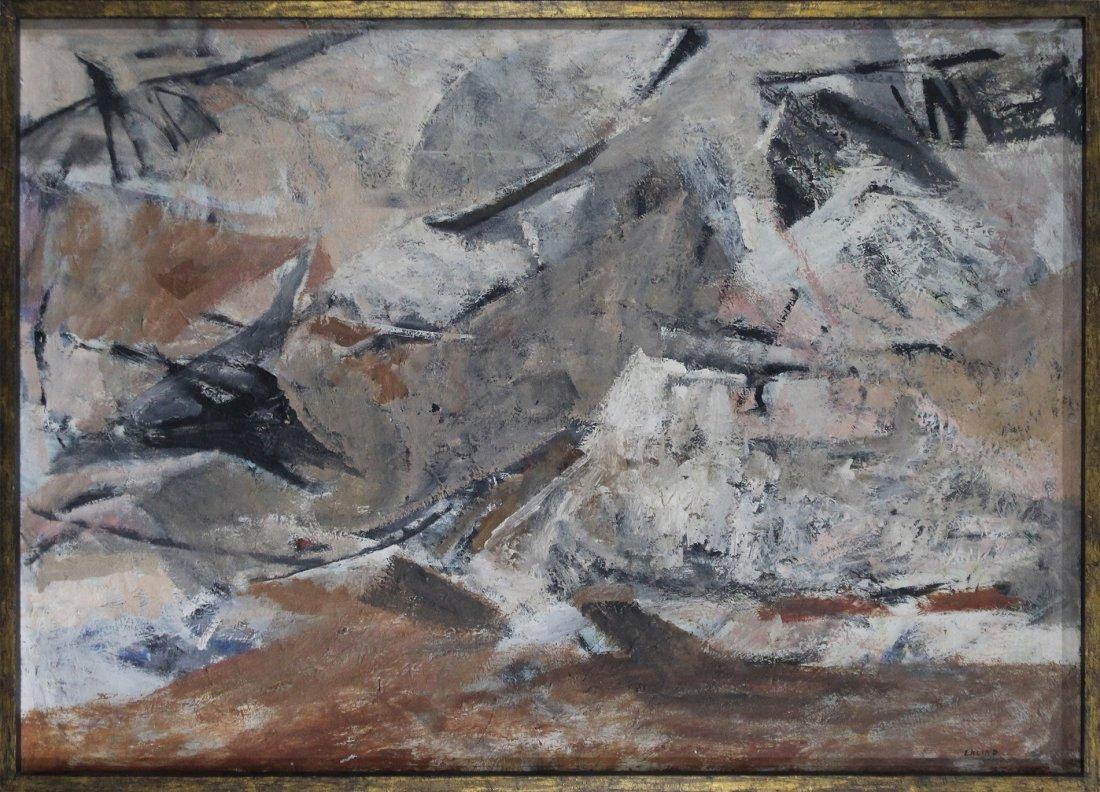 MARJORIE EKLIND, Listed Artist, MID CENTURY ABSTRACT
