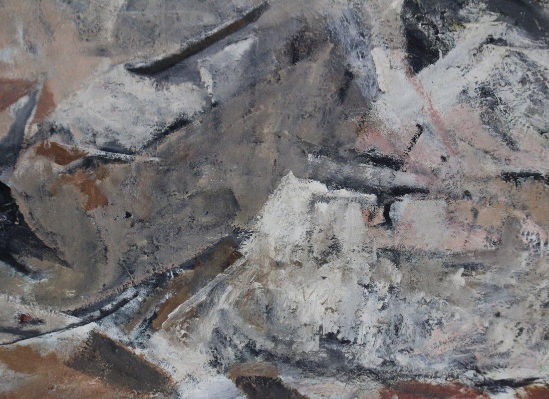 MARJORIE EKLIND, Listed Artist, MID CENTURY ABSTRACT - 2