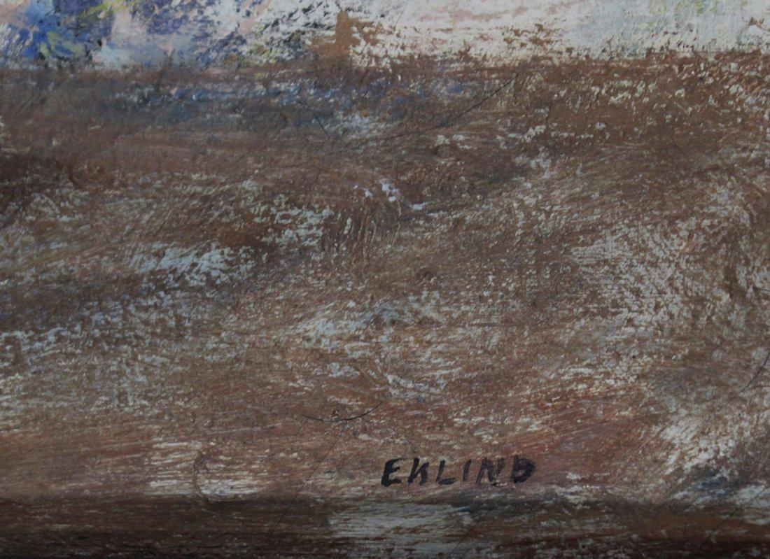 MARJORIE EKLIND, Listed Artist, MID CENTURY ABSTRACT - 3