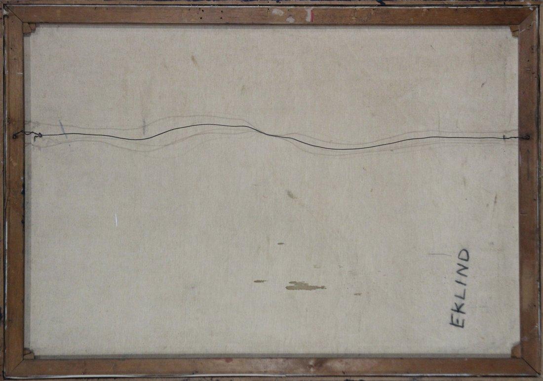 MARJORIE EKLIND, Listed Artist, MID CENTURY ABSTRACT - 4