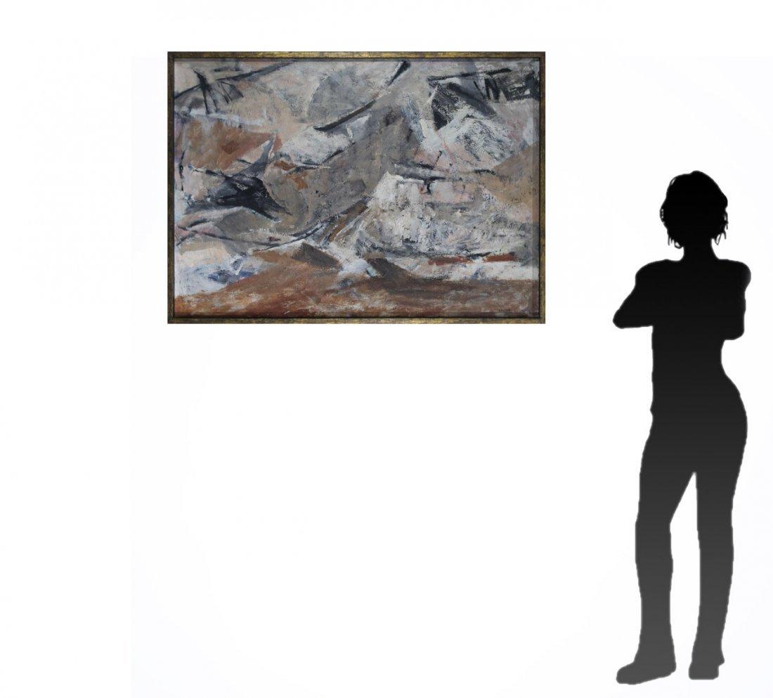 MARJORIE EKLIND, Listed Artist, MID CENTURY ABSTRACT - 6