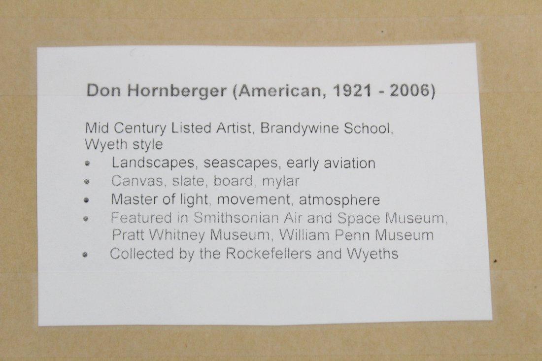 Don Hornberger 1921-2006 Painting Road Hilly Landscape - 4