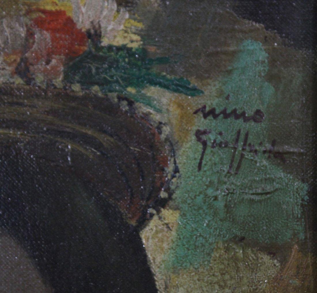 NINO GIUFFRIDA Italy, Oil/c, PORTRAIT YOUNG GIRL. - 2