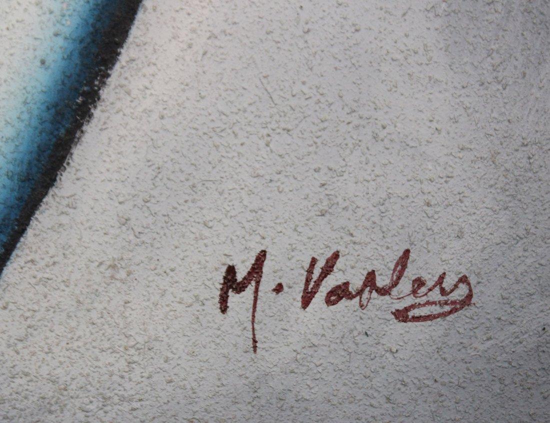 M VARLEY OIL/C MID CENTURY MODERN 2 FIGURES - 4