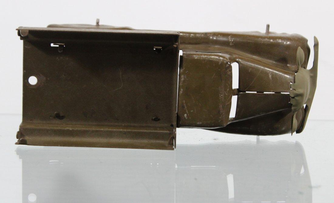 Antique PRESSED STEEL TRUCK Brown - 6
