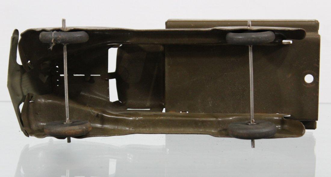 Antique PRESSED STEEL TRUCK Brown - 7