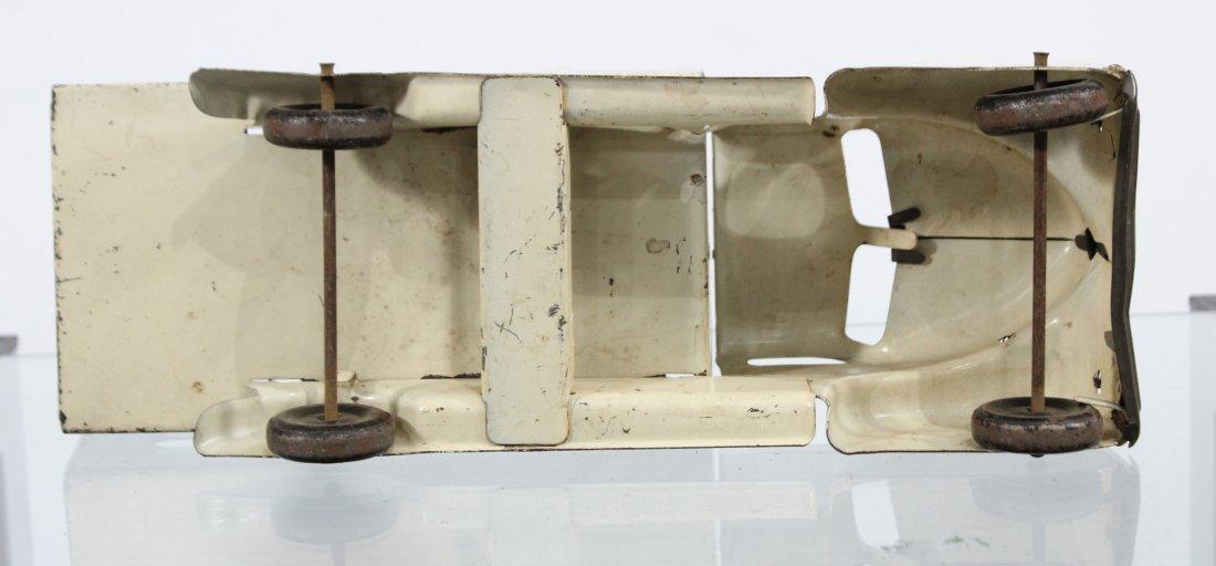 Antique MARX MARCREST MILK DAIRY PRESSED STEEL TRUCK - 6