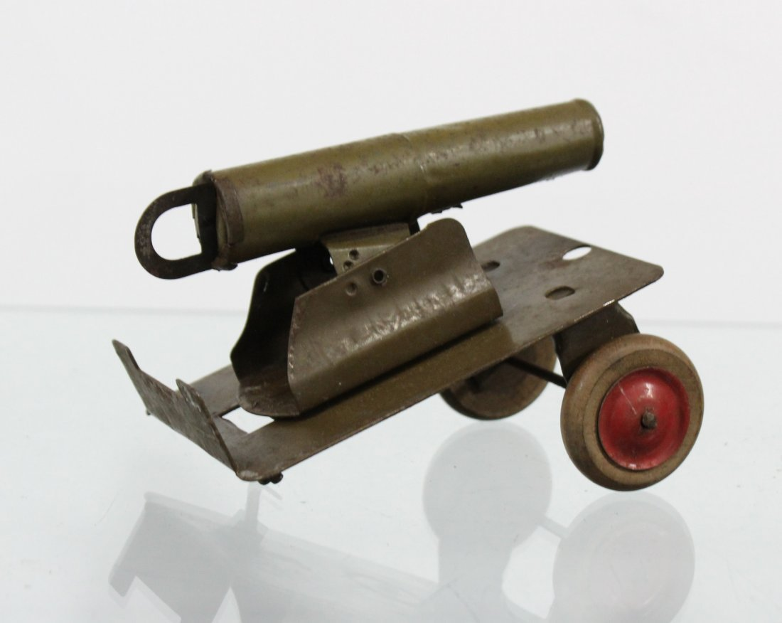 Antique Toy Accessory BAGGAGE EXPRESS, CART, CANNON - 10
