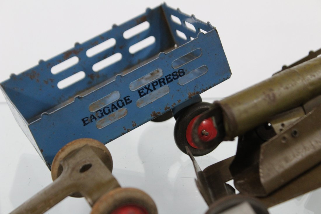 Antique Toy Accessory BAGGAGE EXPRESS, CART, CANNON - 2