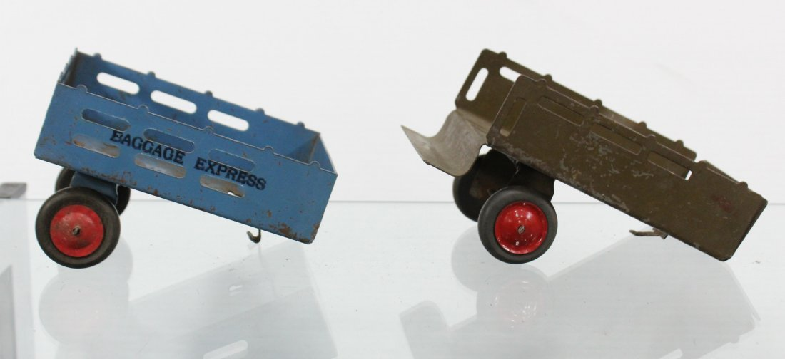 Antique Toy Accessory BAGGAGE EXPRESS, CART, CANNON - 7