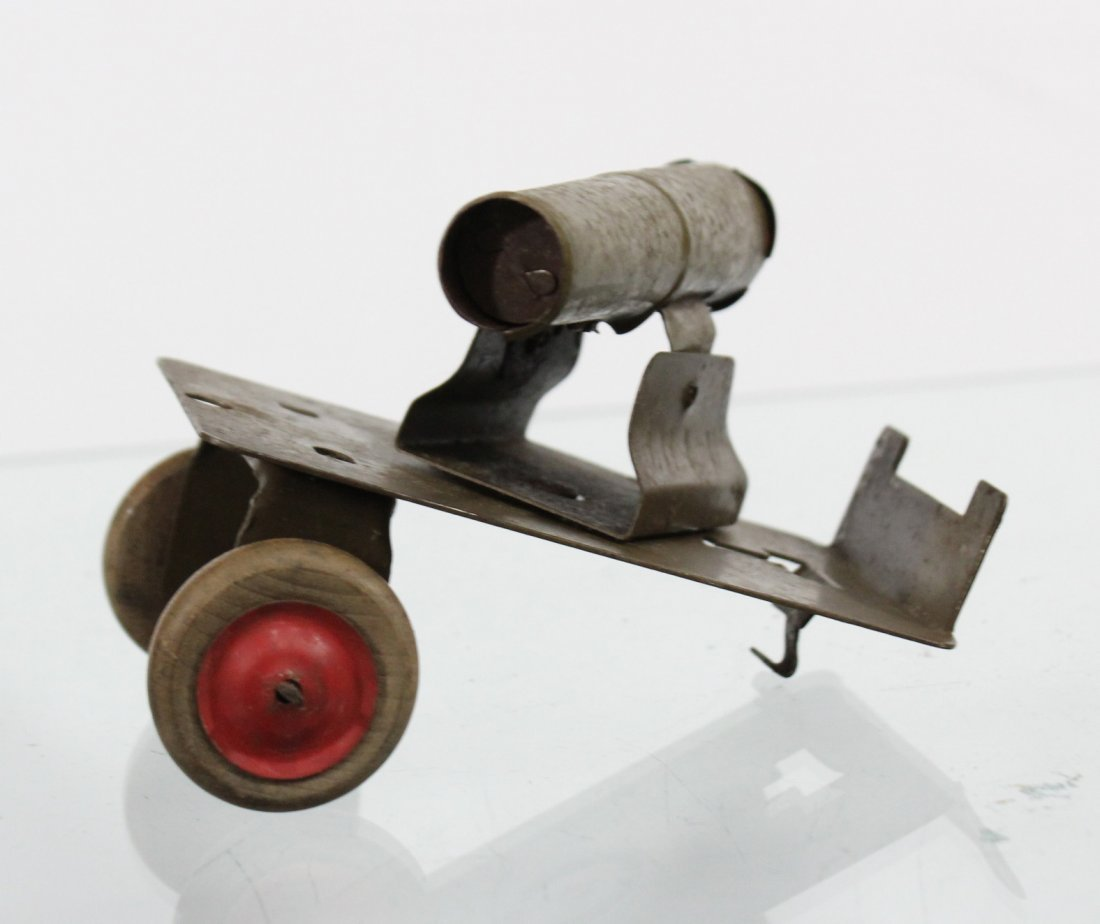 Antique Toy Accessory BAGGAGE EXPRESS, CART, CANNON - 9