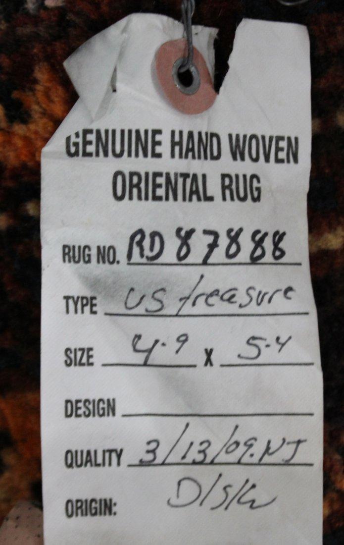Hand Made HERIZ CENTER MEDALLION ORIENTAL RUG - 4