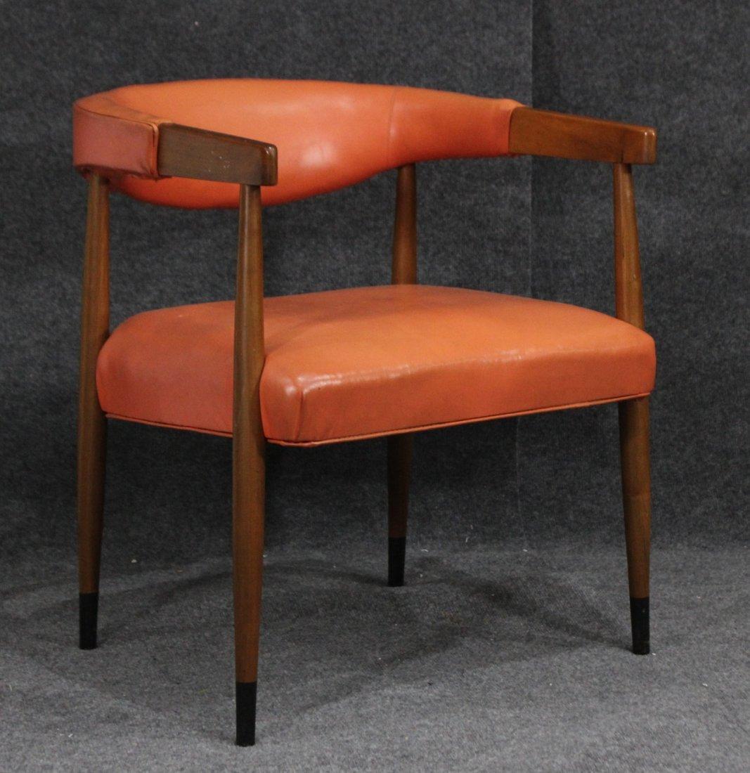 Mid Century Modern Danish Design Barrel Back Arm Chair
