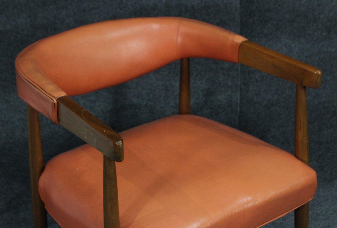 Mid Century Modern Danish Design Barrel Back Arm Chair - 2